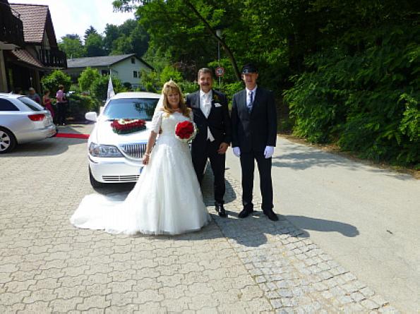 Hochzeit Limo-Day Mannheim